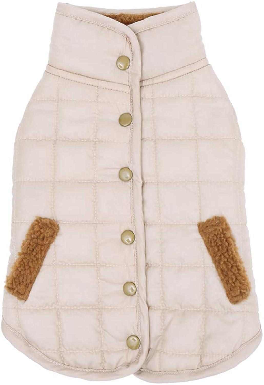 AOBRITON Pet Clothes Puppy Outwear Costume for Winter Dog Warm Coat Down Jacket Vest Pet Puppy Dog Cloth Rabbit 4 colors Pet Supplies