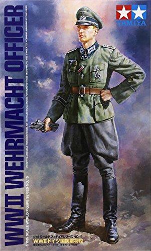 TAMIYA 300036315 - 1:16 WWII Wehrmacht Offizier, Soldat