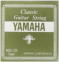 ヤマハ YAMAHA クラシックギター用セット弦 NS110 Set 1弦から3弦はナイロン、4弦から6弦は細いナイロン状のものに金属を巻いたシルバーワウンド
