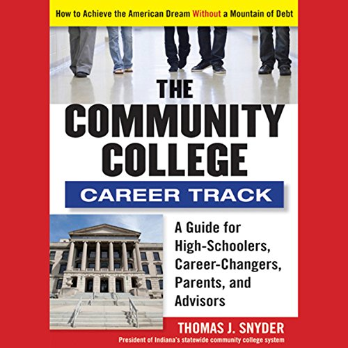 The Community College Career Track audiobook cover art