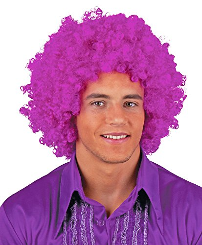 Fiesta Palace - Perruque Afro Violet