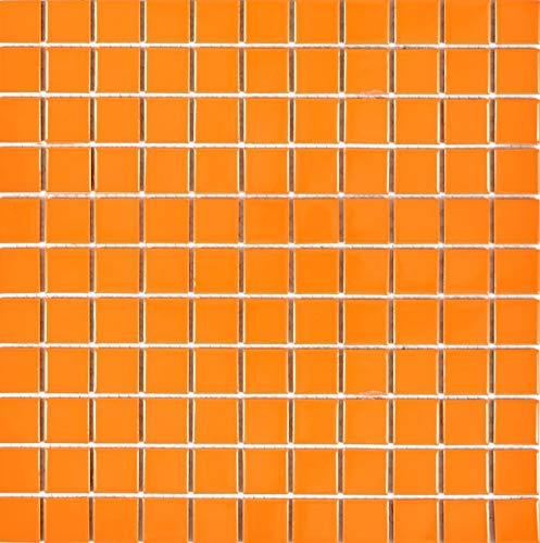 mosaico piastrelle mosaico piastrelle ceramica mosaico ceramica mattonelle arancione lucido