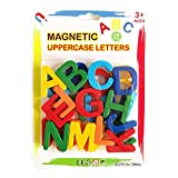 Rikey Children Early Education Educational Toys Magnetic Letters Digital Magnetic Stickers English Letters Plastic Refrigerator Stickers
