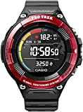 Casio Pro Trek Smart Orologio Digitale Smartwatch Unisex con Cinturino in Resina WSD-F21HR-RDBGE