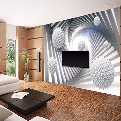 Benutzerdefinierte Großformatige Wandbild 3D Wallpaper Abstrakten Raum Polyeder Feld Hintergrund Wallpaper-150 * 105 Cm