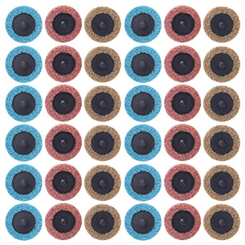 Disco abrasivo, chacerls Herramientas de hardware Espiral pulido Disco de arena abrasivo de nailon en espiral Kit de disco de lijado Herramientas de hardware para procesamiento de metales