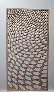 LaserKris 3D1 - Rejilla para radiador (4 x 2, Tablero de Fibra de Densidad Media)