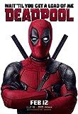 Póster de película Deadpool 6 – Mejor impresión artística de calidad para decoración de pared – Póster A4 (30/21 cm) – Papel fotográfico grueso brillante