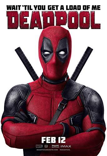 Deadpool 6 - Póster de película de película - Mejor impresión artística de calidad para decoración de pared - Póster A4 (11,7/8,3 pulgadas) - (30/21 cm) - Papel fotográfico grueso brillante