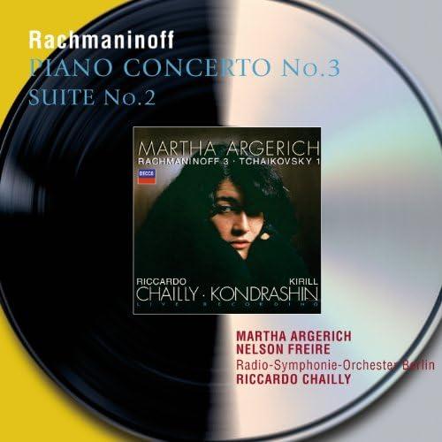 Martha Argerich, Nelson Freire, Radio-Symphonie-Orchester Berlin & Riccardo Chailly