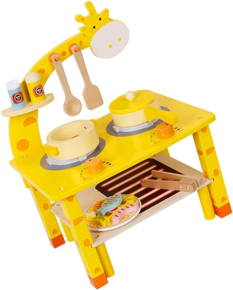 VOSAREA 1 Set Kitchen Pretend Play Toy Kids Kitchen Playsets Acc - camsaw.ie