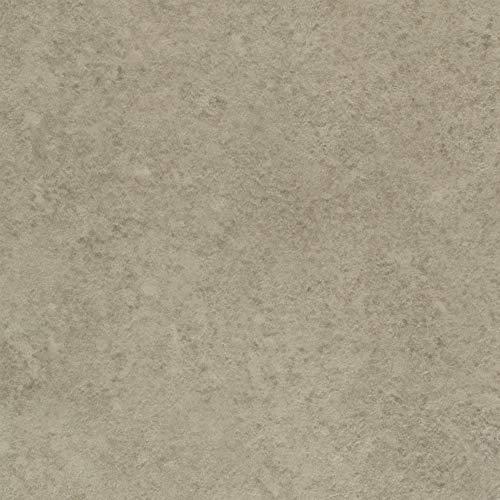BODENMEISTER BM70400 Vinylboden PVC Bodenbelag Meterware 200, 300, 400 cm breit, Steinoptik Betonoptik hell-grau