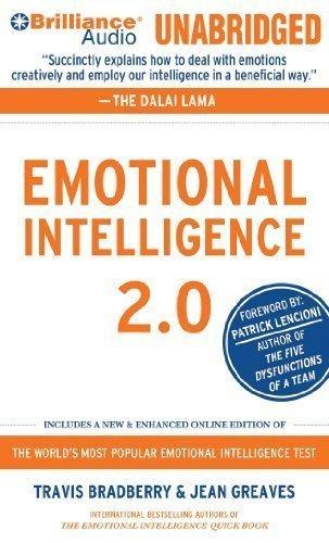 Emotional Intelligence 2.0 by Bradberry, Travis, Greaves, Jean (Unabridged Edition) [AudioCD(2010)]