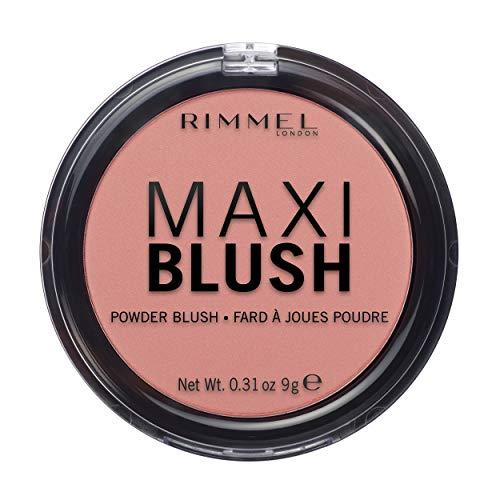 Rimmel - Maxi Blush - Effet bonne Mine et Naturel - Longue Tenue - 006 Exposed - 9gr