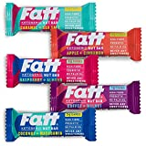 FattBar Taster Box | 6 Flavours | from 1 Gram Carbs Per Bar | Keto, Low Carb, Very Low Sugar, All Natural, No Polyols, Healthy Fats, Delicious, Vegan