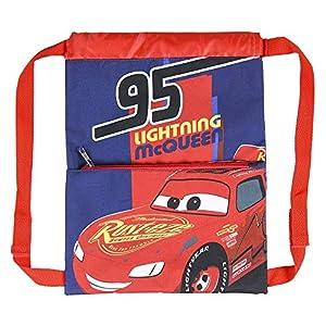 Cerdá, Saquito Guardería de Cars-Licencia Oficial Disney Studios Unisex niños, Multicolor, 270X330MM
