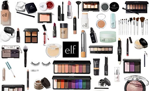 e.l.f. Makeup Assorted 10 Piece Lot Choose Your SKIN TONE Mixed ELF Cosmetics Kit with No Duplicates (Medium/Dark)