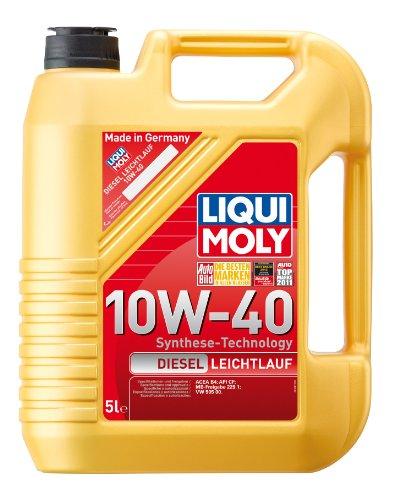 LIQUI MOLY 1387 Diesel Leichtlauf Motoröl 10 W-40 5 L