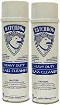 Gold Medal Watchdog Heavy Duty Glass Cleaner 2588CN - 19oz - 2 pack