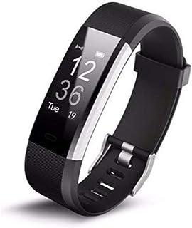 Smart Activity Tracker BOUNCEFIT Sleep Control, Remote Camera, Step, Notification Black – QCC-1001