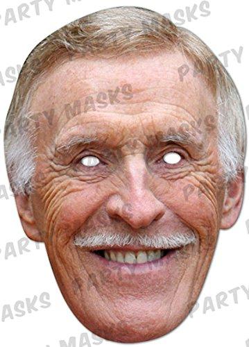 Bruce Forsyth Celebrity Cardboard Mask–Single (Mask/Headpiece