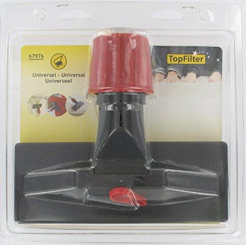 TopFilter 67976, Brosse aspirateur pour surface délicates avec adaptateur universel