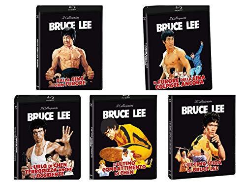 Bruce lee - Dalla cina con furore- il furore della cina- Ultimo combattimento Chen-Urlo di Chen..-L'ultima sfida di Bruce Lee (5 film combo Blu ray + dvd)
