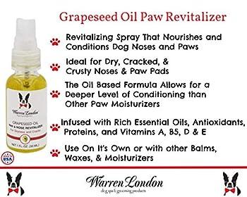 Warren London - Grapeseed Oil Paw & Nose Revitalizer for Dogs - 1oz by Warren London