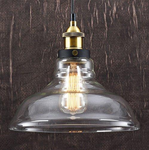 Suspension contemporaine Style vintage industriel Finition bronze