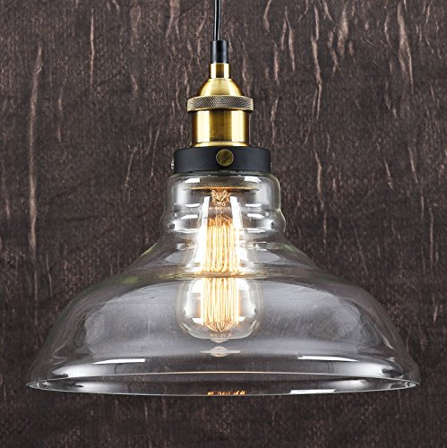 Suspension contemporaine Style vintage industriel imitation bronze