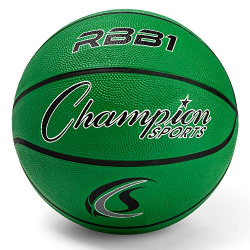 Why Should You Buy Champion Sports Rubber Official Basketball, Heavy Duty - Pro-Style Basketballs, a...