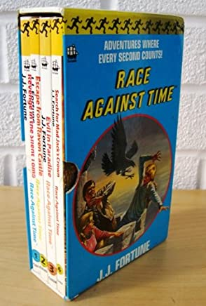 Revenge For The Silent Tomb, Escape From Raven Castle, Evil in Paradise, Search For Mad Jacks Crown Boxed Set (Race Against Time)
