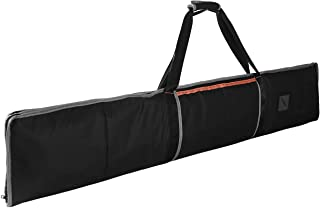 Guide Rail Bag - Double-Side Padding Track Saw Bag Protective Carrying Case for 55 and 59 Inch Guide Rail Tracks(Black)