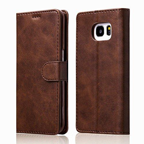 ZTOFERA Leather Case for Samsung Galaxy S6 Edge,Ultra Slim [Magnetic...