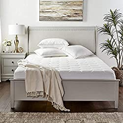 professional Cooling Queen Mattress Topper-Hotel Soft, Super Soft, Comfortable Bamboo Topper …