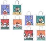 HMLSM Weihnachtspapier-Geschenk-Beutel-Speicher-Beutel-Feiertags-Weihnachts Goody Treat Pouch...