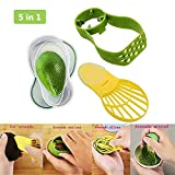 Avocado Slicer, Avocado Saver Peel Cut and 5-in-1 Avocado Slicer Tool