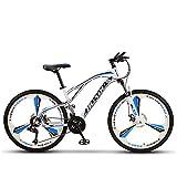 Rueda De Bicicleta, 26 Pulgadas Aleación De Aluminio Rueda De Bicicleta MTB Freno De Llanta Tipo Disco De Freno V Rodamiento Sellado Híbrido De 11 Velocidades Viaje En Bicicleta,24 Inch,30 Speed