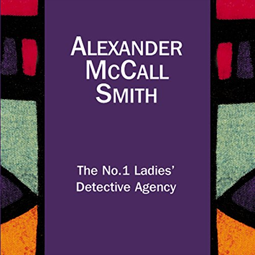 The No.1 Ladies' Detective Agency audiobook cover art