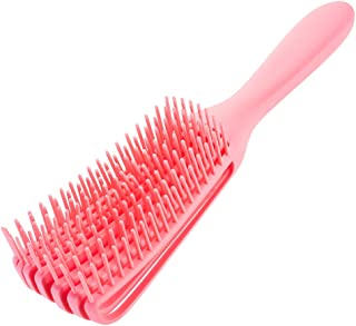 Detangling Brush for Black Natural Hair,Soft Detangling Comb Hair Detangler Brush for African American 4b/4c Hair Curly Hair Thick Hair and Fine Hair,Wet&Dry (pink)