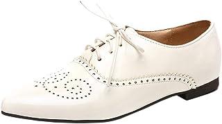 Zanpa Women Fashion Brogue Shoes Lace Up