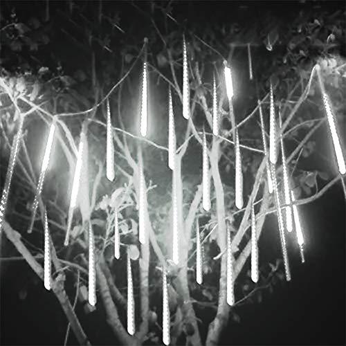 Luci a Goccia di Pioggia, LED Meteor Shower Lights Luci a Cascata per Decorazioni Natalizie Luci a Cascata Impermeabili