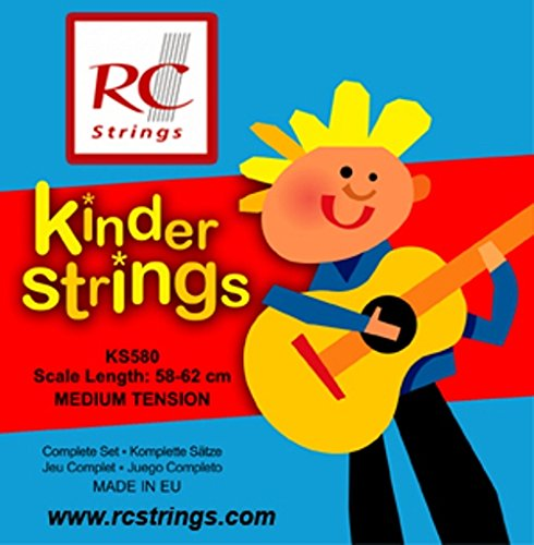 Royal Classics KS580 Kindersaiten für Konzertgitarre (58-62 cm)