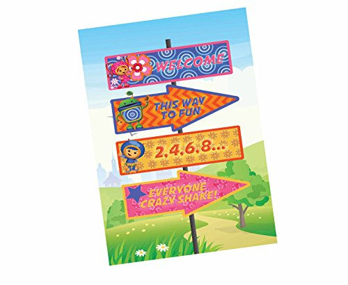 Calling All Umizoomi Friends! Team Umi Zoomi Party Supplies Invitations Decor (Poster)