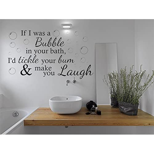Bathroom Wall Stickers Amazoncouk
