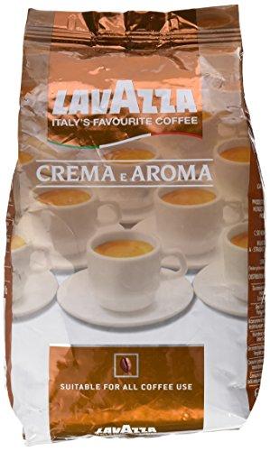 Lavazza Crema e Aroma - Café (1 kg, Coffee-beans, Marrón)