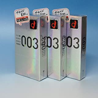 【3個セット】オカモト ゼロゼロスリー(003) コンドーム 12個入り×3個セット