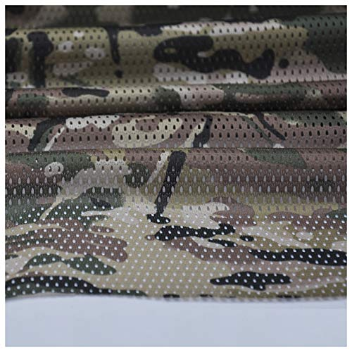 Deep Multicam Pattern Camouflage Camo Net Cover Military Mesh Fabric Cloth