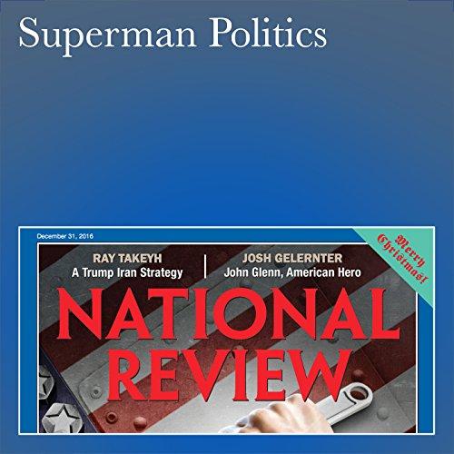 Superman Politics audiobook cover art