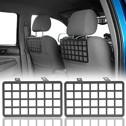 Hooke Road 2PCS Tacoma MOLLE Panel Seat Headrest Storage...